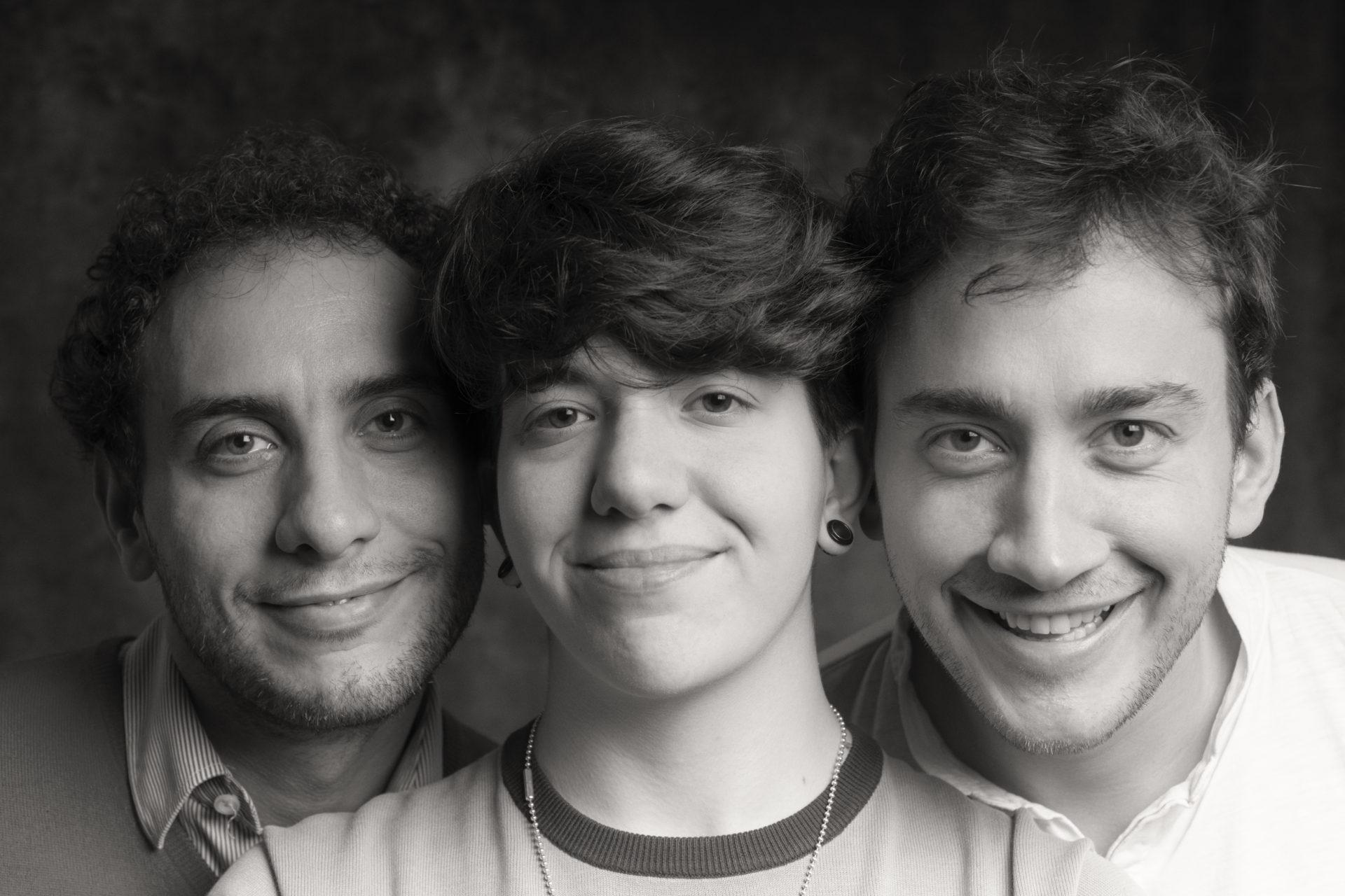 Luigi, Sara e Francesco